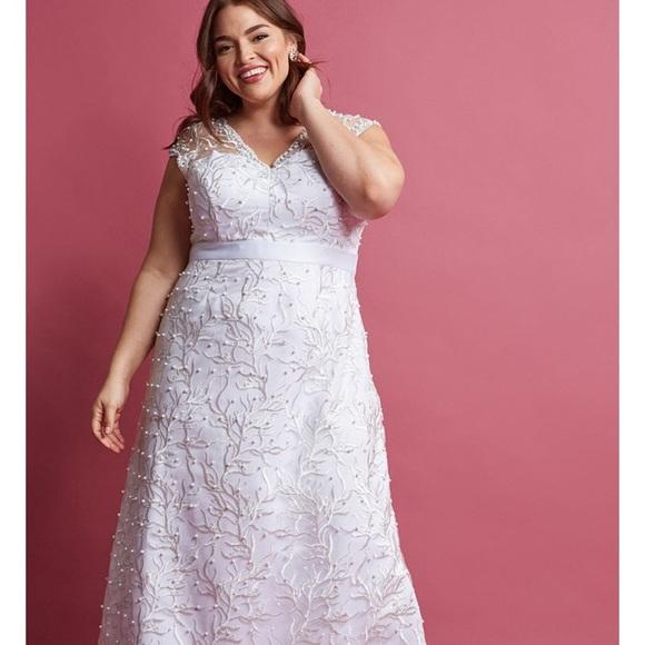 Modcloth Wedding Dress.Nwot Modcloth Wedding Dress Sz 1x